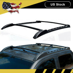 For 2005-2019 Toyota Tacoma TRD PRO Double Cab Roof Rack Top Cross Bar Side Rail