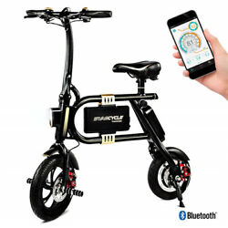 Refurbished Swagtron SwagCycle Classic E-Bike Folding Electric Collapsible Frame $299.99