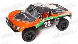 1 10 Exceed RC Electric Rally Monster Truck Short Course Off Road Carbon Orange $160.45