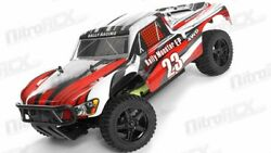1 10 Exceed RC Electric Rally Monster Truck Short Course Off Road Stripe Red $160.45