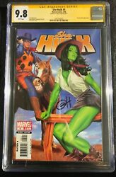 She-Hulk #5 (Marvel 0406) SS Signature Series Greg Horn Auto. Must have beauty!