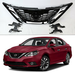 Front Bumper Upper Grille Assembly 62310-3YU0A For Nissan Sentra 2016-2018