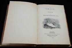Antique Book-THE CHASE-Bewick-Somervile-1802 2nd edition