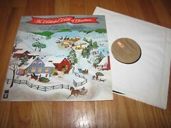 THE WONDERFUL WORLD OF CHRISTMAS - VARIOUS ARTISTS - SM CAPITOL RECORDS LP