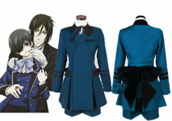 Black Butler Ciel Phantomhive Cosplay Costume Cospaly Full Set Outfit Unsex