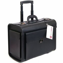 Luggage Laptop Bag Briefcase Case Women Men Leather Computer Best Rolling Mobile $110.57