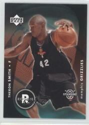 2003 Upper Deck Standing O #125 Theron Smith Vancouver Grizzlies Memphis Rookie