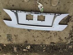 11 12 13 Infiniti M37 M56 License Plate Trunk Lid Trim Bezel Gray See