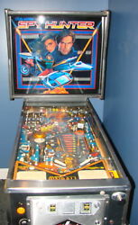 LOCAL PICK UP ONLY Full Size Arcade Pinball Machine Spy Hunter Man Cave She Shed