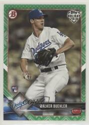 2018 Topps Holiday Bowman Green Sweater 99 Walker Buehler #TH-WB Rookie $27.84