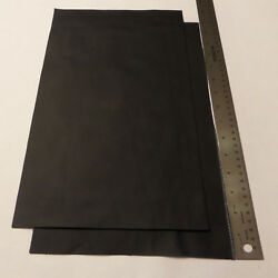 Upholstery Leather Scrap Crafts 9 x 15 inches Black 1 Piece $7.99