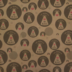 You Abducted My Heart Alien Love Funny Kraft Gift Wrap Wrapping Paper Roll