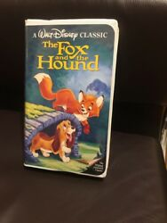The Fox and the Hound RARE Black Diamond Walt Disney Classic ISBN#1-55890-135-3