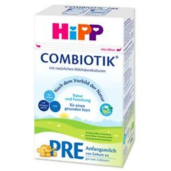 1 HiPP Combiotic Stage Pre Organic Milk Formula GERMAN from birth on PRIO SHIP