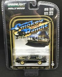 Greenlight 164 Smokey & The Bandit 1977 Pontiac TA Trans Am HOLLYWOOD 44710-A