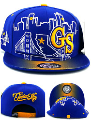 Golden State New Leader GS Skyline 3 Bridge Warriors Blue Era Snapback Hat Cap $17.49