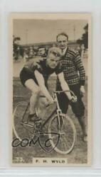 1926 Lambert & Butler Who's Who in Sport (1926) Tobacco #33 FH Wyld Card