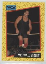 1991 Impel WCW Mr Wall Street #84 $0.99