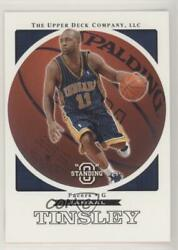 2003-04 Upper Deck Standing O #28 Jamaal Tinsley Indiana Pacers Basketball Card