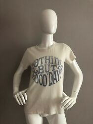NEW JUNK FOOD Nothing But Good Days T Shirt Size S