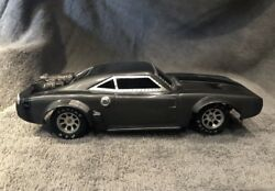 124 Slot Car custom  fast and the furious Doms 70 Dodge ice Charger -H