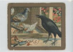 1910 Turkish Trophies Fable Series Tobacco T57 The Dove And Crow Card 9at