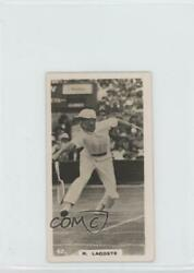 1926 Lambert & Butler Who's Who in Sport (1926) Tobacco #42 Rene Lacoste Card