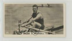 1926 Lambert & Butler Who's Who in Sport (1926) Tobacco #17 Major L Goodsell