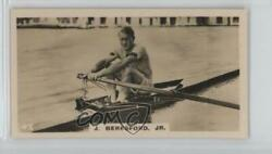 1926 Lambert & Butler Who's Who in Sport (1926) Tobacco #47 Jack Beresford Card