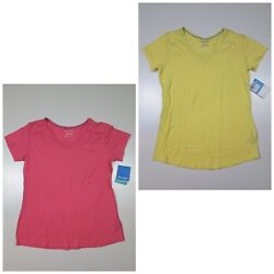 Columbia Women's Everything She Needs V Neck T Shirt Pink Or Yellow Size S or M