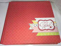 Isn't She Lovely 12x12 Creative Memories Baby It's a Girl Album Page PP Fast2Fab