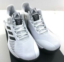 Adidas Pro Spark Low 2018 Men#x27;s Basketball Shoes AP9838 White NWD $44.99