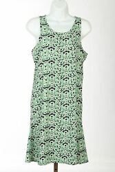 Chelsea 28 Nordstrom Cocktail Dress Womens Sz Large S Green Navy Floral $18.76