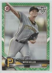 2018 Topps Holiday Bowman Green Sweater 99 Mitch Keller #TH-MK.2 $8.13