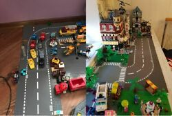 Road Plates For Building Blocks Kids Build Own Road Children Create Playing City $9.99
