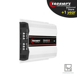 Taramps DS800x2 2 Ohms Amplifier DS 800 Watts 2 Channels 3 day Delivery USA $153.00