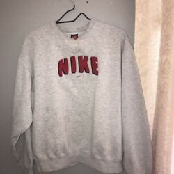 Nike Grey Crewneck Sweatshirt Large