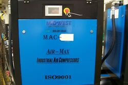 Air-Max MAC-15B 15 hp. 3 ph. Industrial Rotary Screw Air Compressor