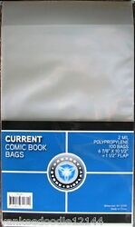 1000 New CSP CURRENT MODERN Comic Book Archival Poly Bags 6 7 8 X 10 1 2 $39.00