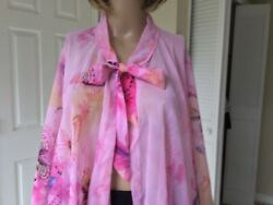 Swimsuit Cover up for Women Chiffon One Size Pink $12.00