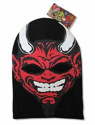 Rob Zombie Devil Face Black Ski Mask New Official Adult Hat Beanie $17.99