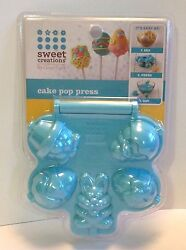 NIP-Sweet Creations by Good Cook Easter Cake Pop Mold 5 Cavity Press-BunnyEggs