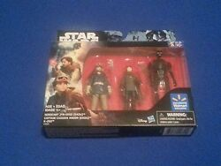 Star Wars: Rogue One Walmart Exclusive Action Figure Set 3 pack 3.75quot; $11.99