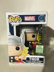 Funko Pop Thor #438 2019 Spring Convention Limited Edition ECCC  Marvel