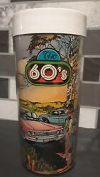 Chevrolet Thermo-Serv Insulated Cup General Motors Decade Tumbler 50s 60s Chevy