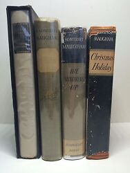 Somerset Maugham Signed Ltd 1st Editions Cakes & Ale Strictly Personal Orig DJs