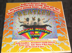 Beatles Magical Mystery Sealed Vinyl Record Lp USA 1967 Orig Mono Dome Logo LOA