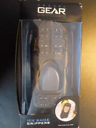 ICE SHOE GRIPPERS ONE SIZE FITS MOST by TRAVEL GEAR BLACK #41TG3302 $15.00