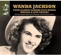 Four Classic Albums by Wanda Jackson 4 CD SET Real Gone Music RARE HARD TO FIND