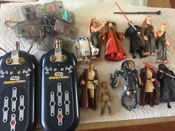 Star Wars Comm Tech With Figures Cards Accessories Inc 2 Electronic Readers $50.00